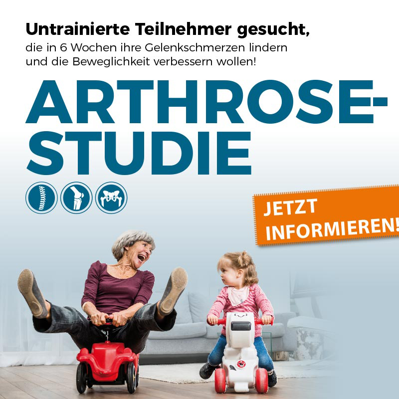 Arthrose-Studie im SHINTO